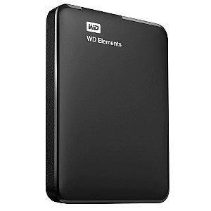 HD EXTERNO 1TB USB 3.0 PRETO, WESTER DIGITAL