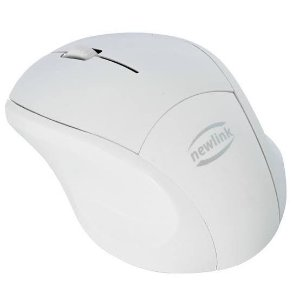 MOUSE S/ FIO USB 2.4GHZ POCKET PR/BR, NEWLINK MO225