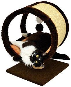 Arranhador para gato Ring em Pelúcia