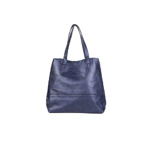 Bolsa Sacola Feminina Estilo Azul Marinho