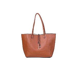 Bolsa Sacola Feminina Shopper Caramelo