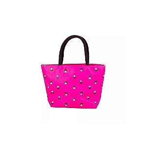 Mini Bolsa de Mão Feminina Rosa