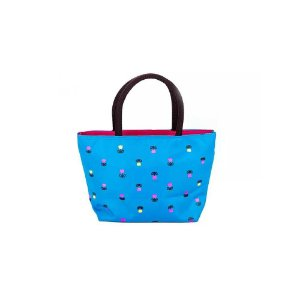 Mini Bolsa de Mão Feminina Azul