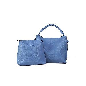 Bolsa de Mão Hoop Azul Claro