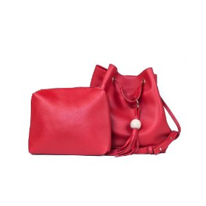 Bolsa Feminina Bucket Jovem Vermelha