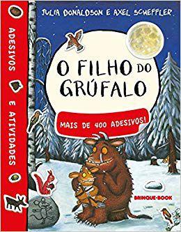 FILHO DO GRUFALO, O: LIVRO DE ADESIVOS