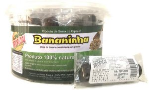 Bananinha com chocolate e granola