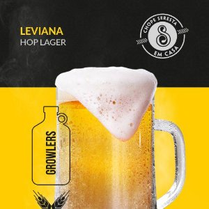 Chopp Growler Leviana Hop Lager