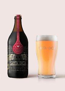 Cerveja Santa Dica Weiss com Hibisco 600ml