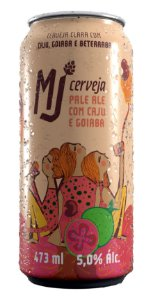 MJ Pale Ale Caju e Goiaba Lata 473 ml
