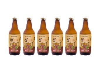 Pack 6 Garrafas - Cerveja MJ Pale Ale Caju e Goiaba 500ml