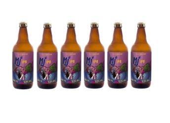 Pack 6 Garrafas - Cerveja MJ IPA 500ml
