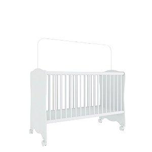 Berço Baby Estrela (Colchão 60x130) - Branco