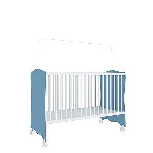 Berço Baby Estrela (Colchão 60x130) - Azul