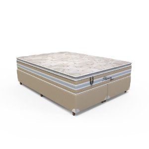 Conjunto Box King Size Pleasure Space - 193 x 203 x 70