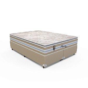 Conjunto Box Queen Pleasure Space - 158 x 198 x 70
