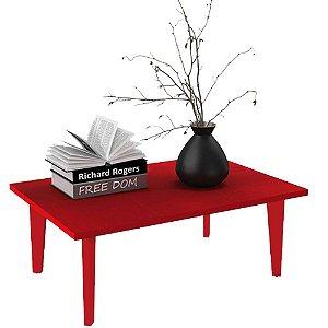 Mesa de Centro Bili - Vermelho