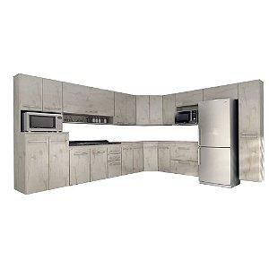 Cozinha Modulado Ônix 15 peças – Nevada