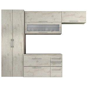 Cozinha Modulado Mármore 04 peças – Nevado