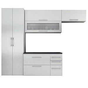 Cozinha Modulado Mármore 04 peças – Branco