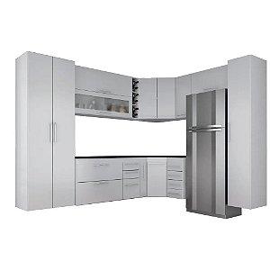 Cozinha Modulado Granada 11 peças – Branco