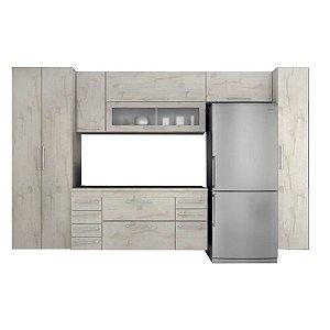 Cozinha Modulado Gelo 7 peças – Nevada