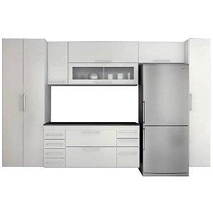 Cozinha Modulado Gelo 7 peças – Branco