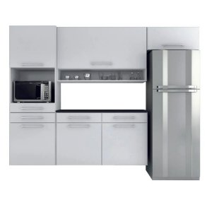 Cozinha Modulado Rebeca Cristal 4 peças – Branco