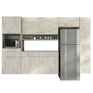 Cozinha Modulado Rebeca Jade 5 peças – Nevada