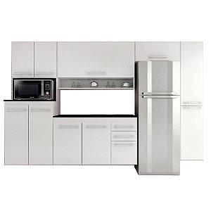 Cozinha Completa Rebeca Coral 5 peças – Branco