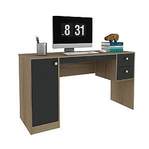 Escrivaninha 1 Porta 2 Gavetas HO-2933 - Avelã TX/OnixTX