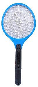 Raquete Mata Mosquito Bivolt - Azul