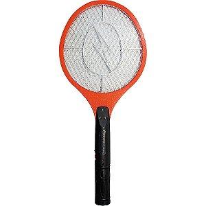 Raquete Mata Mosquito Bivolt - Vermelho