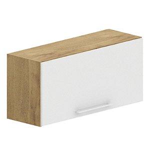 Aéreo Geladeira 80 cm - Branco/Castanho