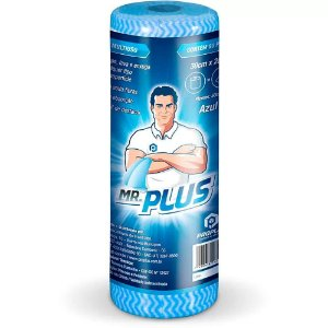 Pano Multiuso 30x50 cm c/ 50 panos - Azul