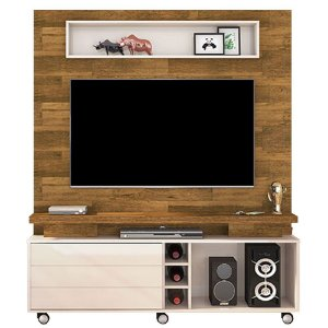 Home Theater Kazan - Tronco Ripado/Creme