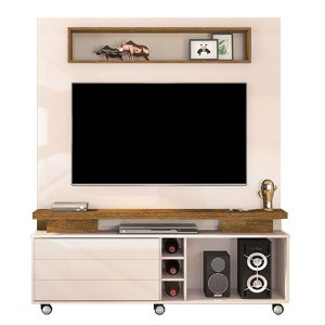 Home Theater Kazan - Creme/Tronco Ripado