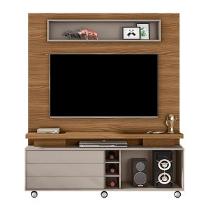 Home Theater Kazan - Carvalho Europeu/Amarula