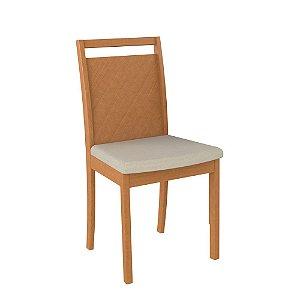 Cadeira de Madeira Maciça 602 - Champagne