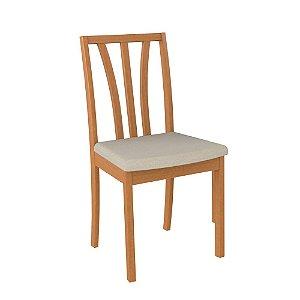 Cadeira de Madeira Maciça 603 - Champagne