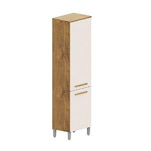 Paneleiro Cozinha Compacta - Castanho/Off-White