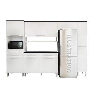 Cozinha Modulada 5 Peças Jade - Branco