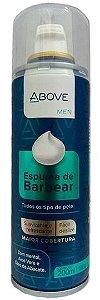 Espuma para Barbear Above Todos Os Tipos de Pele Com 200ml