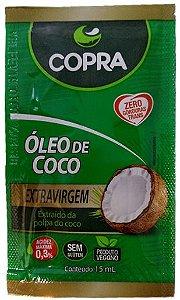 Oleo de Coco Extravirgem Sache Com 15ml