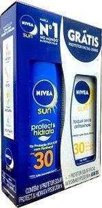 Kit Nivea Protetor Solar Fator 30 Corpo e Rosto
