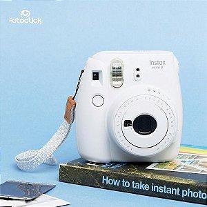 Instax Mini 9 Câmera Fuji Branco Gelo