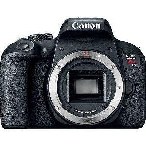 Câmera Digital Canon EOS Rebel T7i Corpo / 24.2mp / Full Hd / Wi-Fi