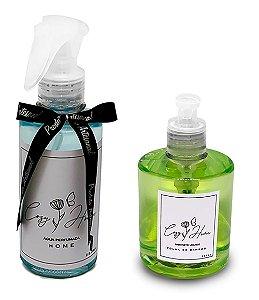 Kit - Água Perfumada Home + Sabonete Líquido Folha de Bamboo