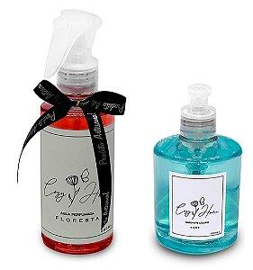 Kit - Água Perfumada Floresta + Sabonete Líquido Baby