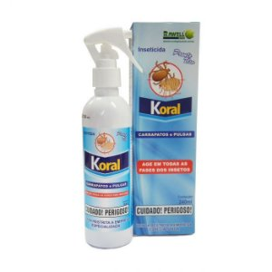 ANTIPULGA KORAL SPRAY 240 ML